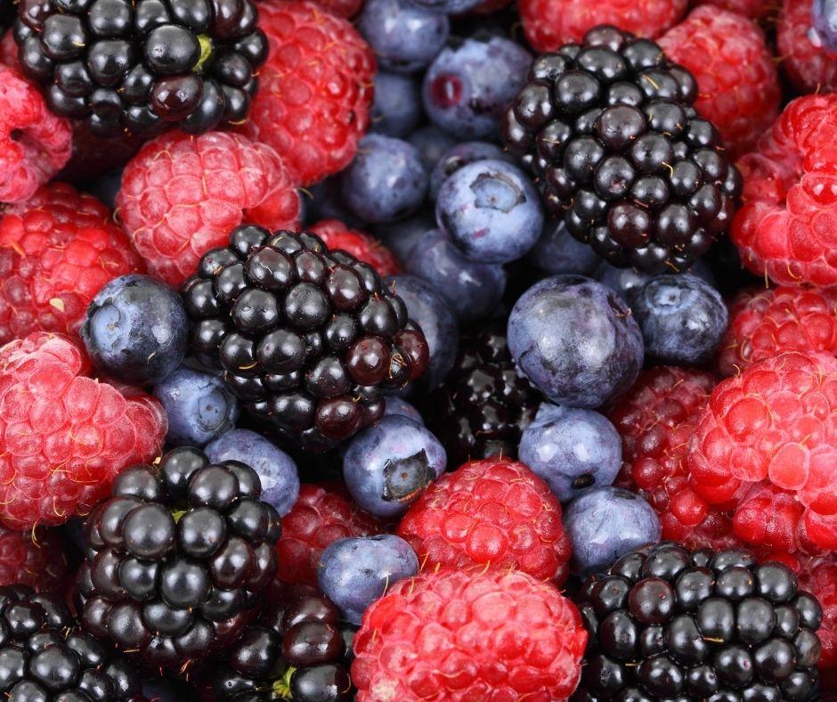 Fruits Rouges en Gros Plan