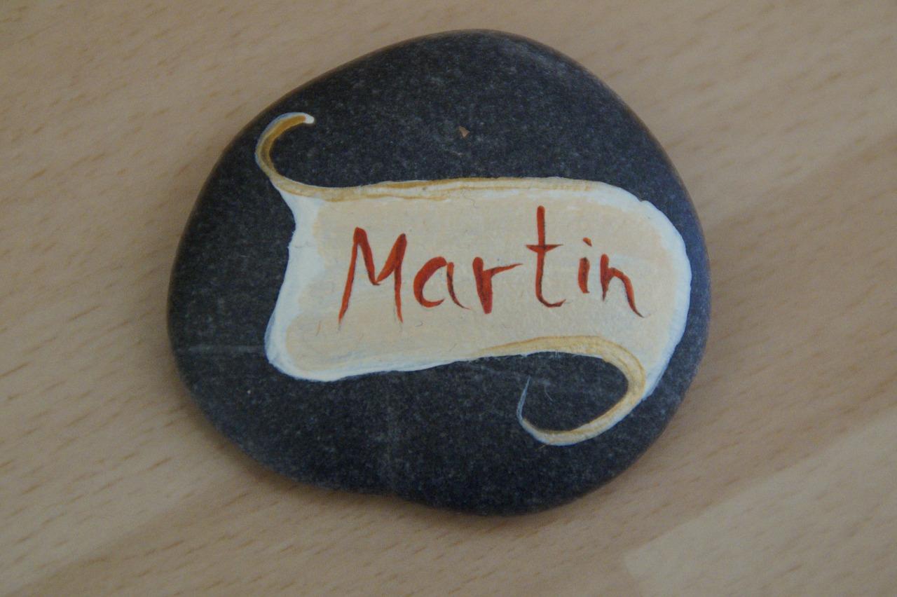 Caillou Prenom Martin